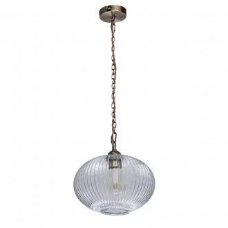 MW-LIGHT 481012201 | Amanda-MW Mw-Light visilice svjetiljka 1x E27 645lm antik bakar, prozirno