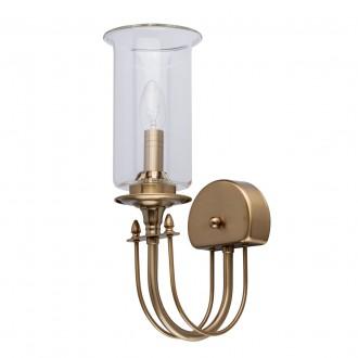 MW-LIGHT 481022901 | Amanda-MW Mw-Light zidna svjetiljka 1x E14 430lm saten brass, prozirno