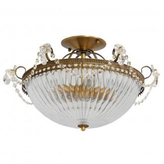 MW-LIGHT 482010204 | Selena-MW Mw-Light stropne svjetiljke svjetiljka 4x E14 1720lm mesing, prozirno, kristal