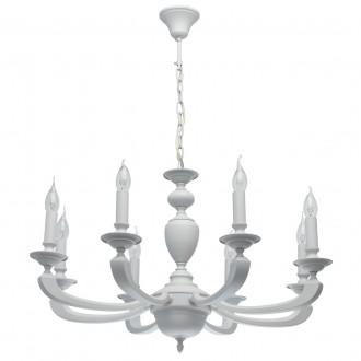 MW-LIGHT 700011708 | DelRey Mw-Light luster svjetiljka 8x E14 3440lm saten bijelo