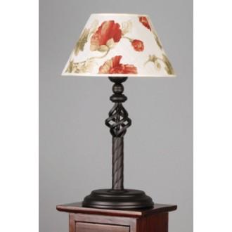 NAMAT 004 | Fara Namat stolna svjetiljka 50cm s prekidačem 1x E27 venga, bijelo, višebojno