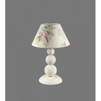 NAMAT 1203/9 | Atar Namat stolna svjetiljka 52cm s prekidačem 1x E27 bijelo, višebojno