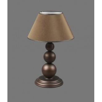 NAMAT 1205/3 | Bert Namat stolna svjetiljka 52cm s prekidačem 1x E27 smeđe, bijelo