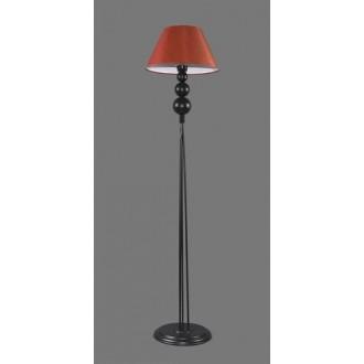 NAMAT 1210/11 | Fago Namat podna svjetiljka 170cm s prekidačem 1x E27 crno, crveno, bijelo