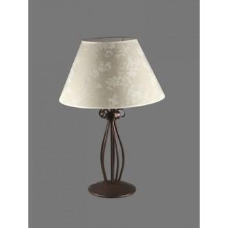 NAMAT 1211/8 | Boren Namat stolna svjetiljka 62cm s prekidačem 1x E27 smeđe, višebojno