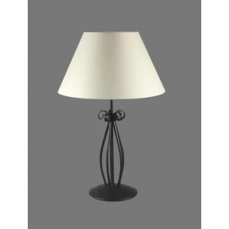 NAMAT 1213/1 | Eramis Namat stolna svjetiljka 62cm s prekidačem 1x E27 bijelo, crno