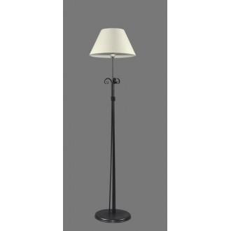 NAMAT 1214/1 | Eramis Namat podna svjetiljka 175cm s prekidačem 1x E27 bijelo, crno