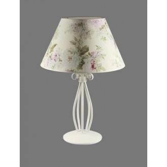 NAMAT 1217/9 | Merton Namat stolna svjetiljka 62cm s prekidačem 1x E27 bijelo, višebojno