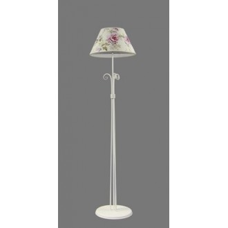 NAMAT 1218/9 | Merton Namat podna svjetiljka 175cm s prekidačem 1x E27 bijelo, višebojno