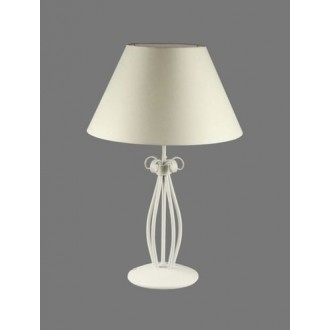 NAMAT 1219/1 | Gines Namat stolna svjetiljka 62cm s prekidačem 1x E27 bijelo