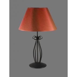 NAMAT 1225/11 | Tores Namat stolna svjetiljka 62cm s prekidačem 1x E27 crno, crveno, bijelo