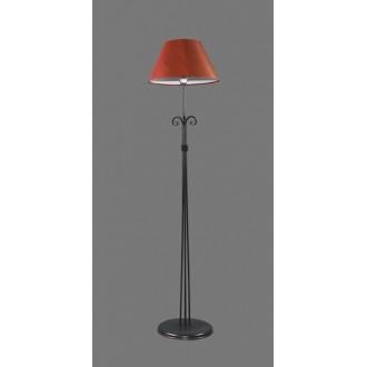 NAMAT 1226/11 | Tores Namat podna svjetiljka 175cm s prekidačem 1x E27 crno, crveno, bijelo