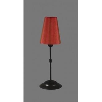 NAMAT 1231/11 | RadanN Namat stolna svjetiljka 40cm s prekidačem 1x E14 crno, crveno, bijelo
