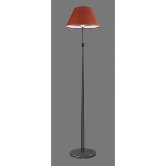 NAMAT 1232/11 | RadanN Namat podna svjetiljka 175cm s prekidačem 1x E27 crno, crveno, bijelo