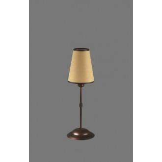 NAMAT 1235/5 | Irma Namat stolna svjetiljka 40cm s prekidačem 1x E14 smeđe, bež, bijelo