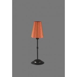 NAMAT 1239/11 | Redan Namat stolna svjetiljka 40cm s prekidačem 1x E14 crno, crveno, bijelo