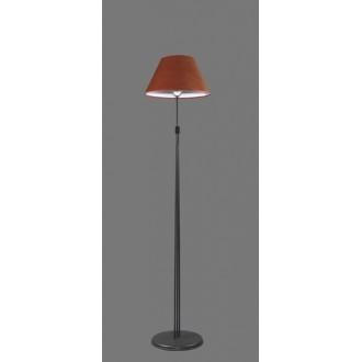 NAMAT 1240/11 | Redan Namat podna svjetiljka 175cm s prekidačem 1x E27 crno, crveno, bijelo