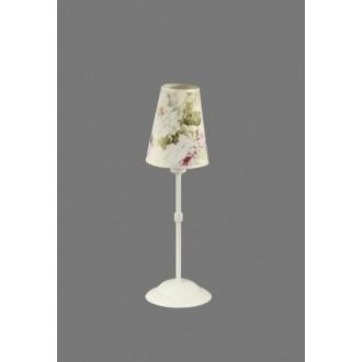 NAMAT 1241/9 | Salko Namat stolna svjetiljka 40cm s prekidačem 1x E14 bijelo, višebojno