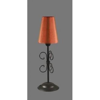 NAMAT 1243/11 | Santa Namat stolna svjetiljka 35cm s prekidačem 1x E14 crno, crveno, bijelo
