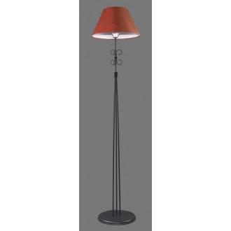 NAMAT 1244/11 | Santa Namat podna svjetiljka 175cm s prekidačem 1x E27 crno, crveno, bijelo