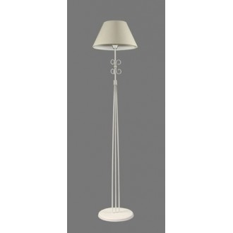 NAMAT 1250/1 | Taga Namat podna svjetiljka 175cm s prekidačem 1x E27 bijelo