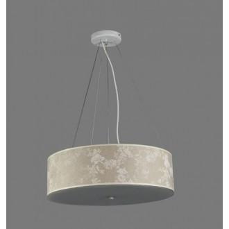 NAMAT 1252/8 | Laron Namat visilice svjetiljka 3x E27 višebojno, bijelo