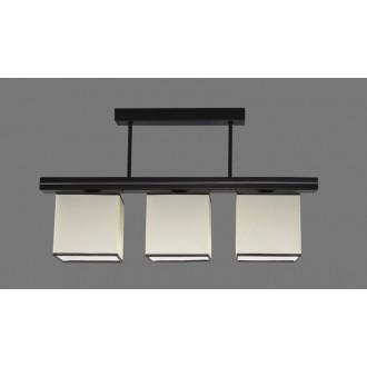 NAMAT 1261/1 | Aris1 Namat stropne svjetiljke svjetiljka 3x E27 bijelo, crno