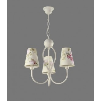 NAMAT 1341/9 | Salko Namat luster svjetiljka 3x E14 bijelo, višebojno