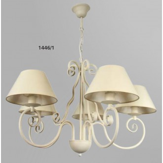 NAMAT 1446/1   Zafo Namat luster svjetiljka 5x E14 krem