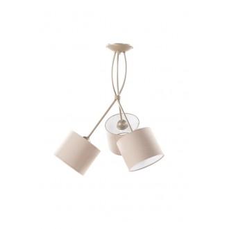 NAMAT 1749 | Olaf Namat stropne svjetiljke svjetiljka 3x E27 boja zemlje, drap, bijelo