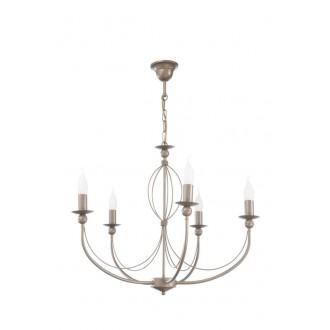 NAMAT 1826   Tymon Namat luster svjetiljka 5x E14 boja zemlje