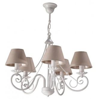 NAMAT 2189 | Dalia-Dalmacy Namat luster svjetiljka 5x E14 bijelo, drap