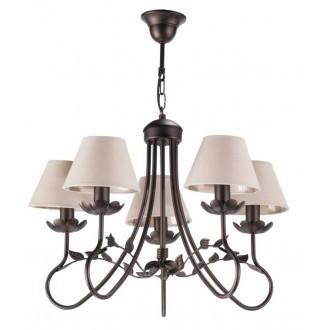 NAMAT 2213 | Egidia-Fabiana Namat luster svjetiljka 5x E14 venga, bež