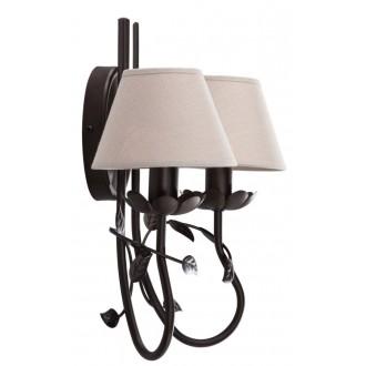 NAMAT 2216 | Egidia-Fabiana Namat zidna svjetiljka 2x E14 venga, bež