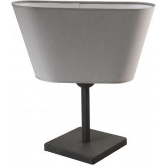 NAMAT 2376 | Werena Namat stolna svjetiljka 37cm s prekidačem 1x E27 sivo