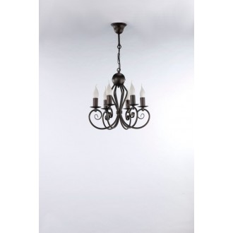 NAMAT 3557 | Kliwia-Classic Namat luster svjetiljka 6x E14 venga