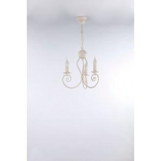 NAMAT 3563 | Kliwia-Classic Namat luster svjetiljka 3x E14 krem