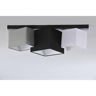 NAMAT 3751 | N3K-Puzzle Namat stropne svjetiljke svjetiljka 3x E27 crno, bijelo, sivo