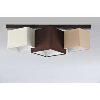 NAMAT 3756 | N3K-Puzzle Namat stropne svjetiljke svjetiljka 3x E27 venga, krem, karamela