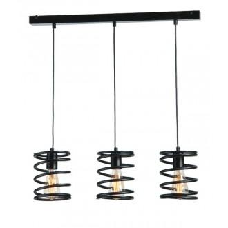 NAMAT 3896 | BilbaoNa Namat visilice svjetiljka 3x E27 crno mat