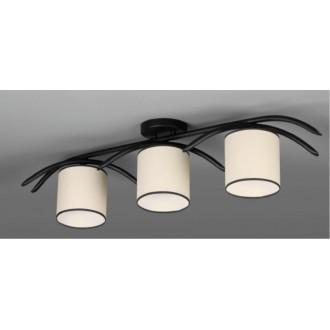 NAMAT 616 | Juvenia Namat stropne svjetiljke svjetiljka 3x E27 crno, krem