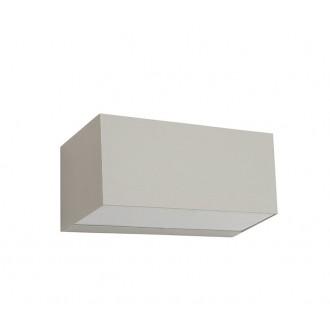 NORLYS 1511AL | Asker Norlys zidna svjetiljka 1x LED 800lm 3000K IP65 aluminij, acidni