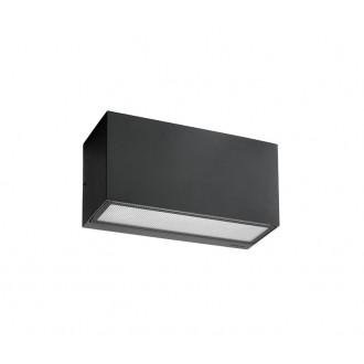 NORLYS 1513GR   Asker Norlys zidna svjetiljka 1x E27 IP65 grafit, acidni
