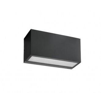 NORLYS 1514B | Asker Norlys zidna svjetiljka 1x E27 IP65 crno, acidni