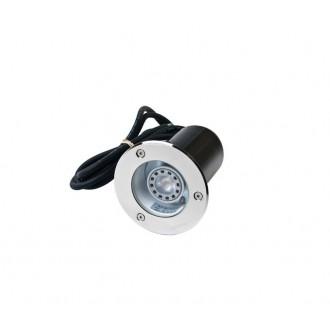 NORLYS 1552ST | Rena-NO Norlys ugradbena svjetiljka Ø85mm 1x GU10 IP68 kromni mat