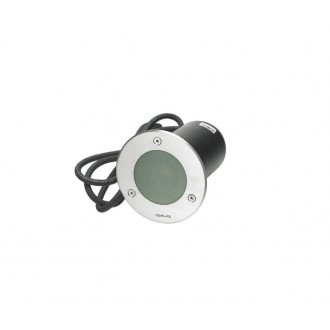 NORLYS 1556ST | Rena-NO Norlys ugradbena svjetiljka Ø85mm 1x GU10 IP68 kromni mat