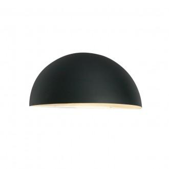 NORLYS 160B   Paris-NO Norlys zidna svjetiljka 1x E27 IP43 crno