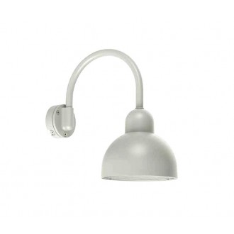 NORLYS 1911AL | Koster Norlys zidna svjetiljka 1x LED 2000lm 3000K IP54 aluminij