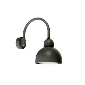 NORLYS 1911GR | Koster Norlys zidna svjetiljka 1x LED 2000lm 3000K IP54 grafit