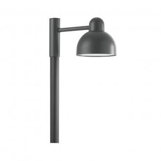 NORLYS 1913GR | Koster Norlys podna svjetiljka 23cm 1x LED 2000lm 3000K IP54 grafit